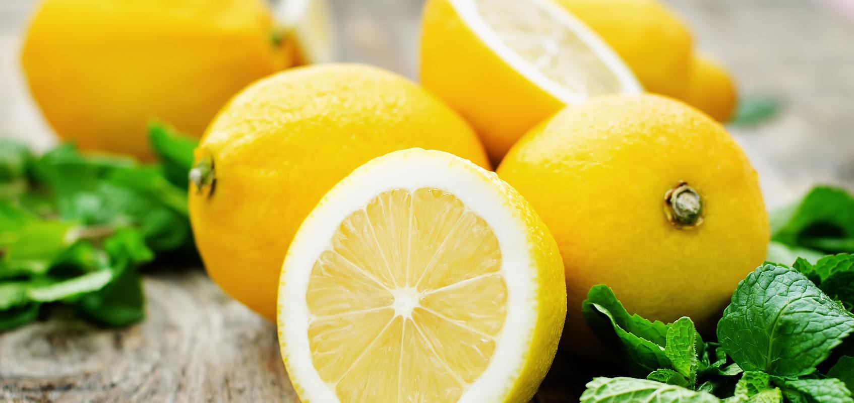 Citrons coupés
