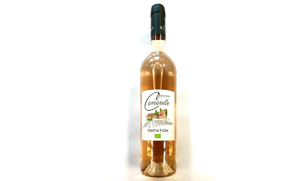 Vin rosé Domaine de Camarette